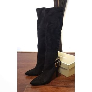 BCBG Generations Knee High Suede  Boots